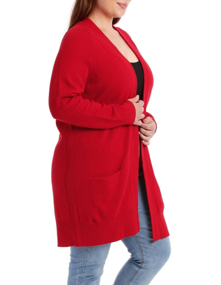 Cardigan Edge To Edge With Pockets image 2