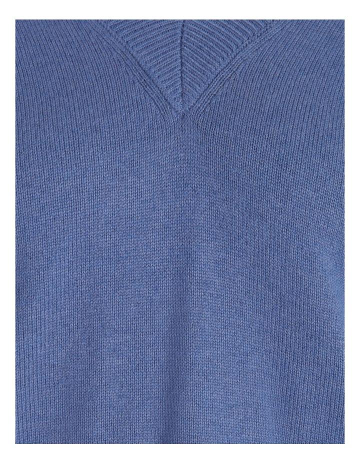 Vee Neck Puff Sleeve Knit image 6