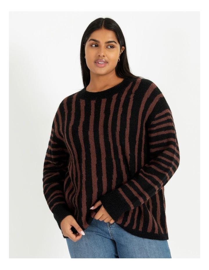 Vertical Stripe Knit image 1