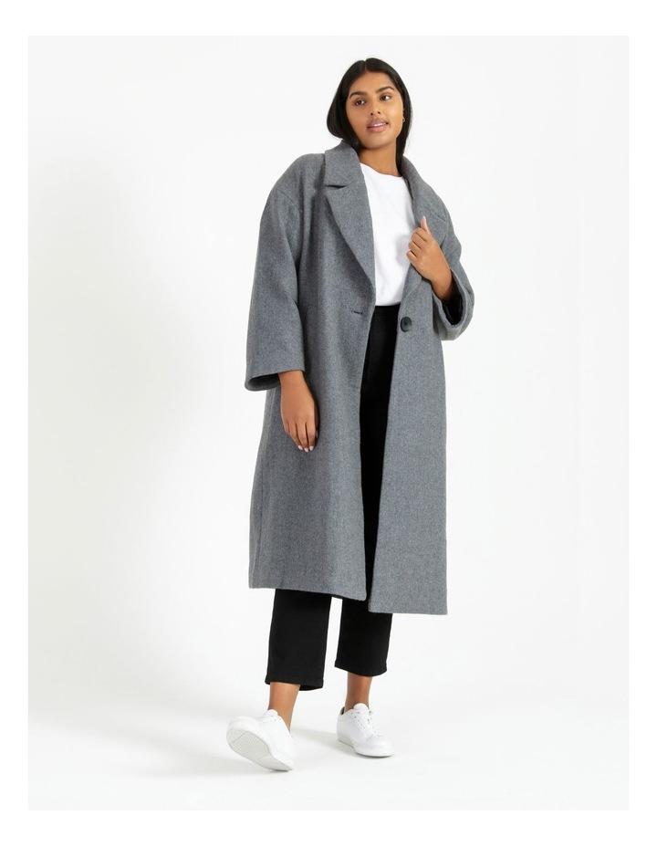 Oversized Boyfriend Coat image 1
