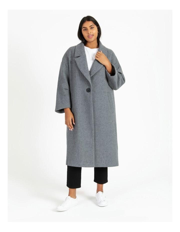 Oversized Boyfriend Coat image 3