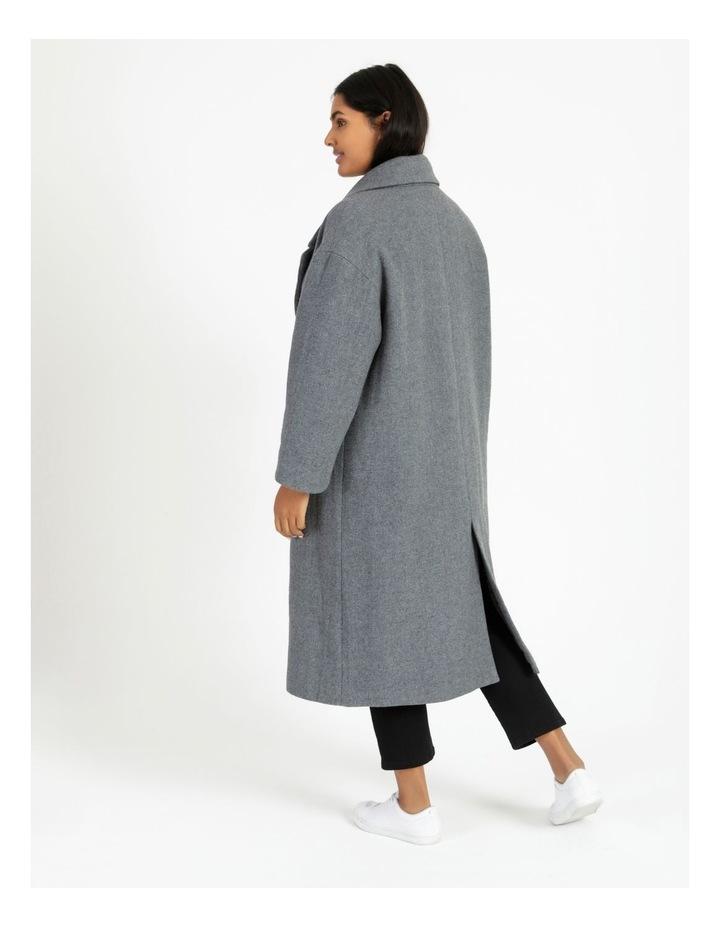 Oversized Boyfriend Coat image 5