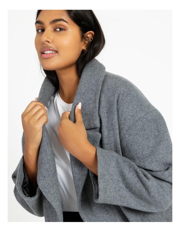 Oversized Boyfriend Coat image 6