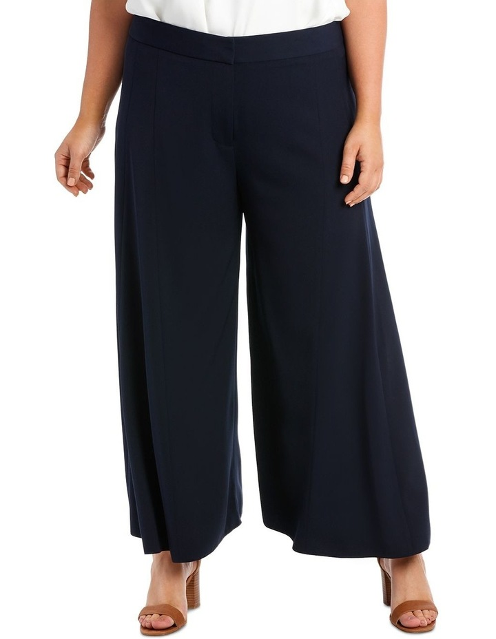 Wide Leg Pant With Front Splits image 2