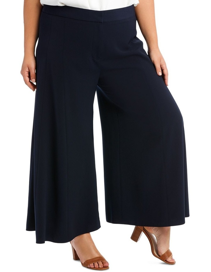 Wide Leg Pant With Front Splits image 4
