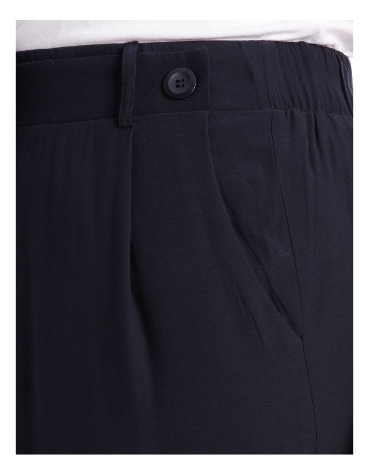 Pant Wide Leg with Button Detail image 4