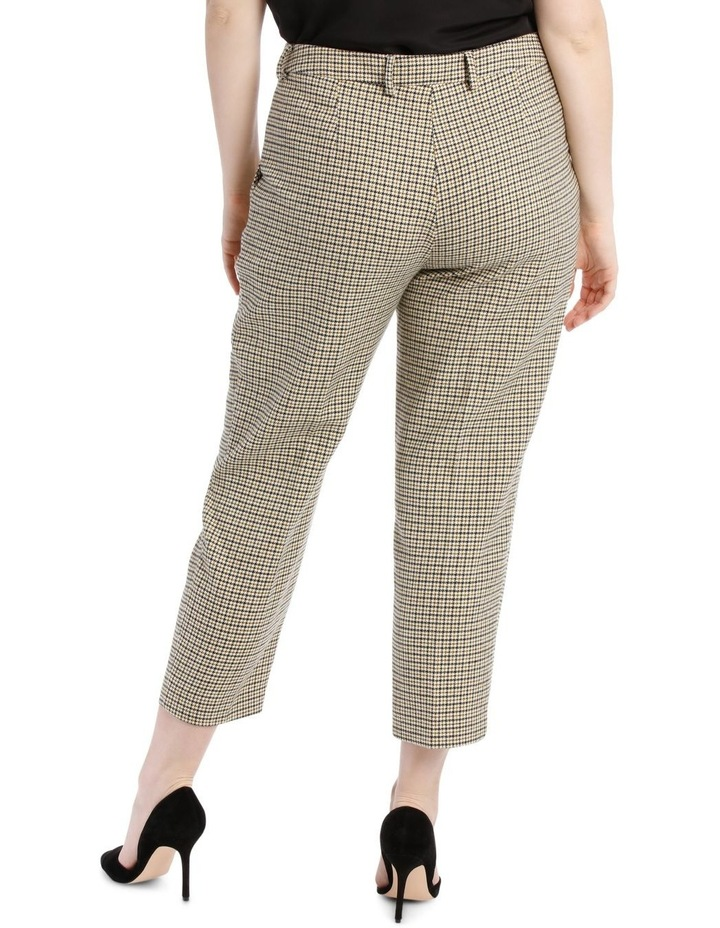 9b4b4a1b771 Check Pant Side Flat Elastic with Buttons image 3