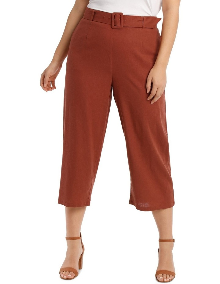 Wide Leg 7/8 Length Pant image 1
