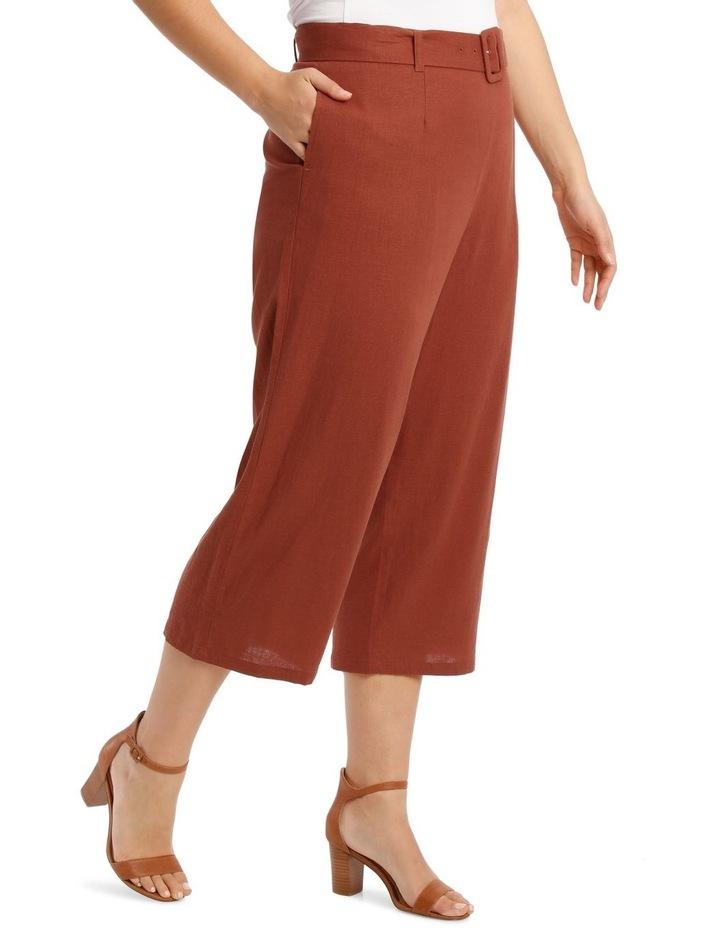 Wide Leg 7/8 Length Pant image 2