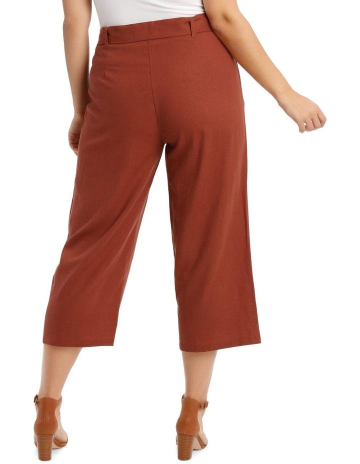 Wide Leg 7/8 Length Pant image 3