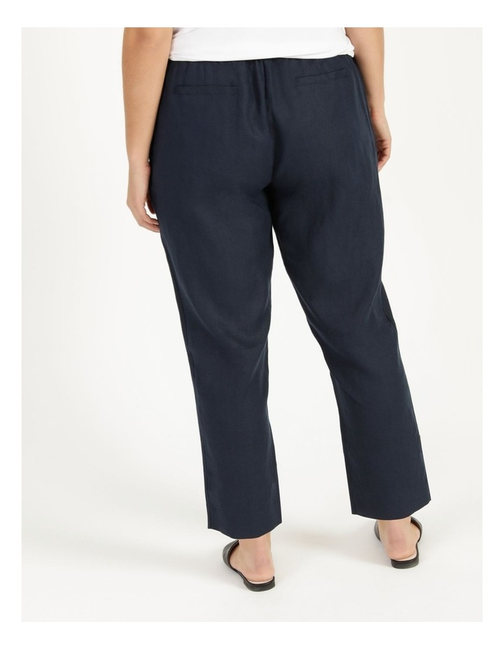 Navy Linen Pants image 4