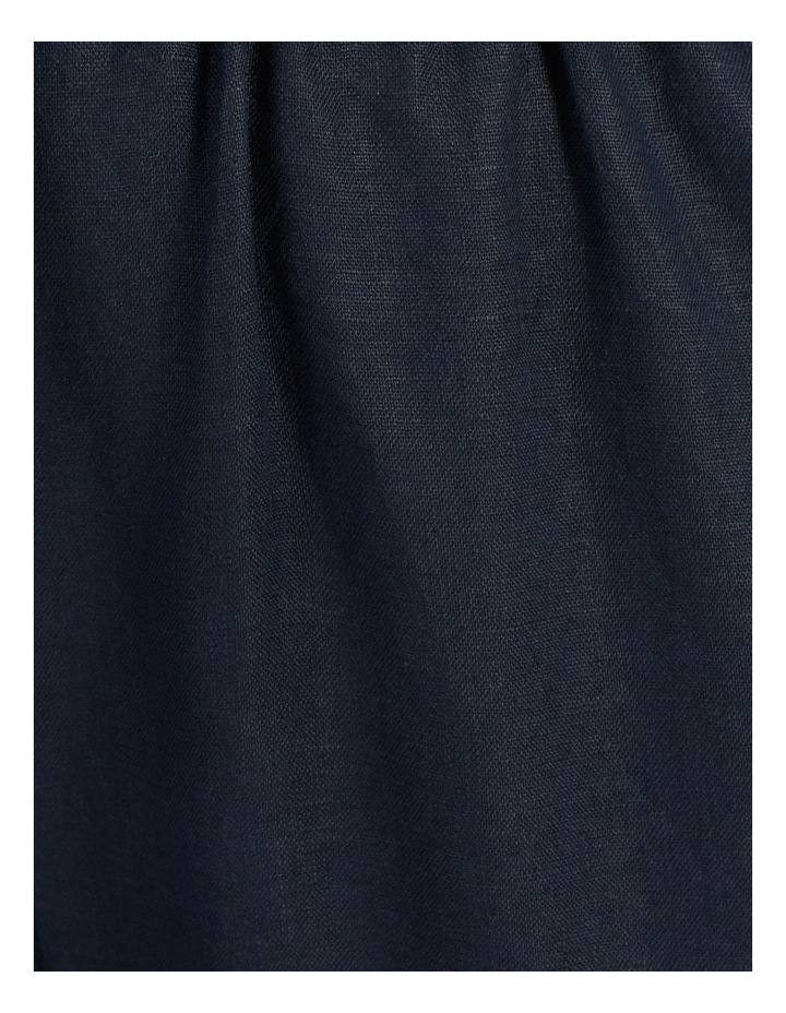 Navy Linen Pants image 6