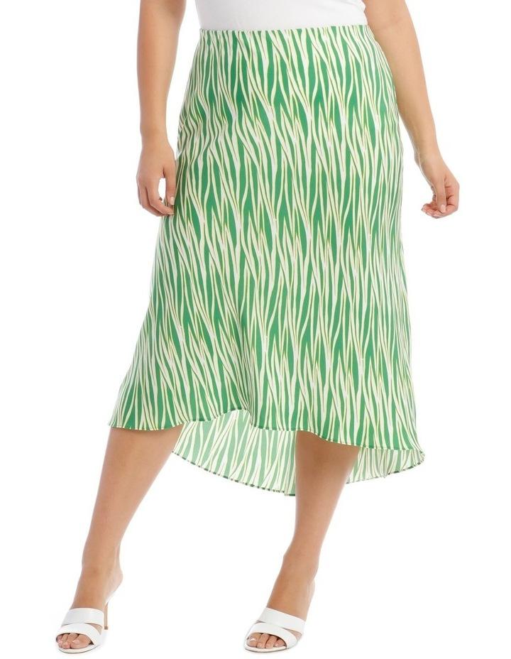 Zebra Printed Skirt image 1