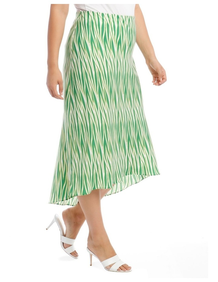 Zebra Printed Skirt image 2