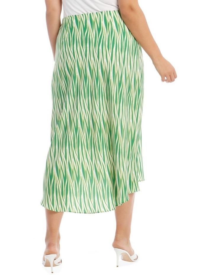 Zebra Printed Skirt image 3
