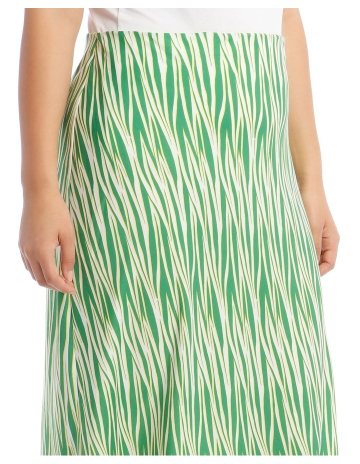 Zebra Printed Skirt image 4