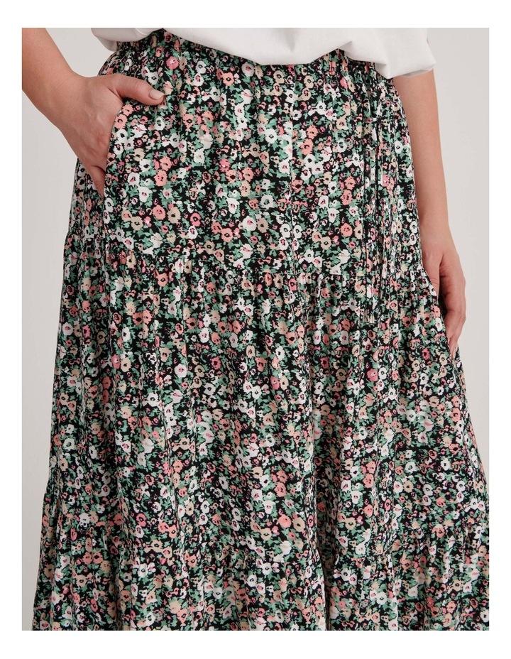 Tiered Midi Skirt image 5