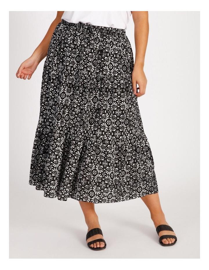 Tiered Midi Skirt image 1