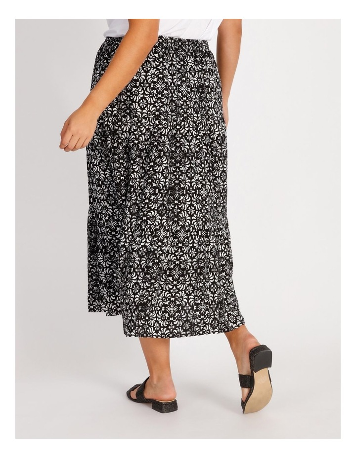 Tiered Midi Skirt image 3