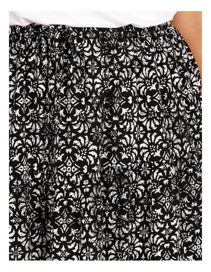 Tiered Midi Skirt image 4