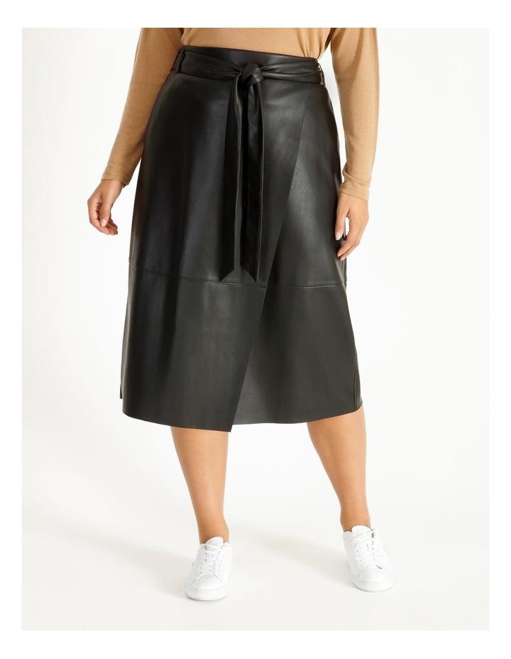 PU Wrap Skirt image 1