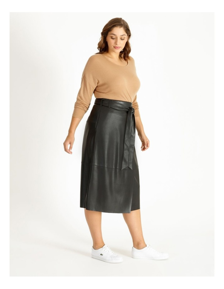 PU Wrap Skirt image 2