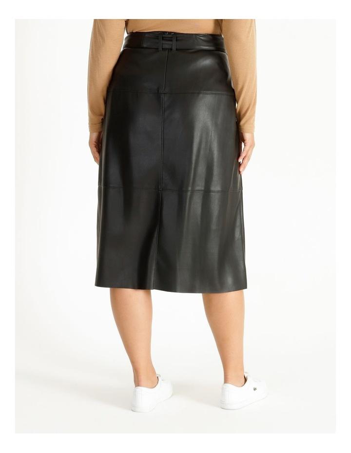 PU Wrap Skirt image 3