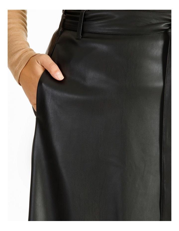 PU Wrap Skirt image 4