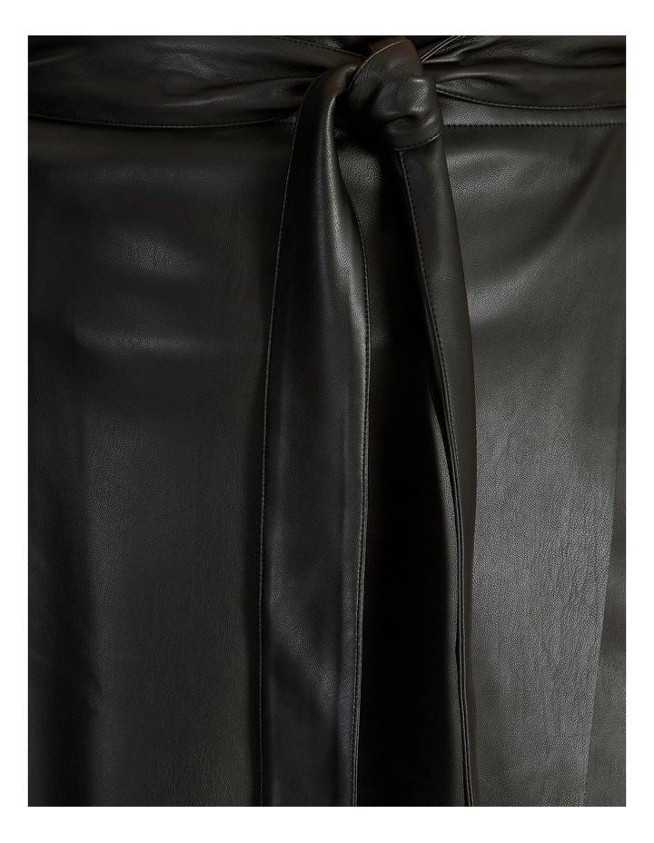 PU Wrap Skirt image 5