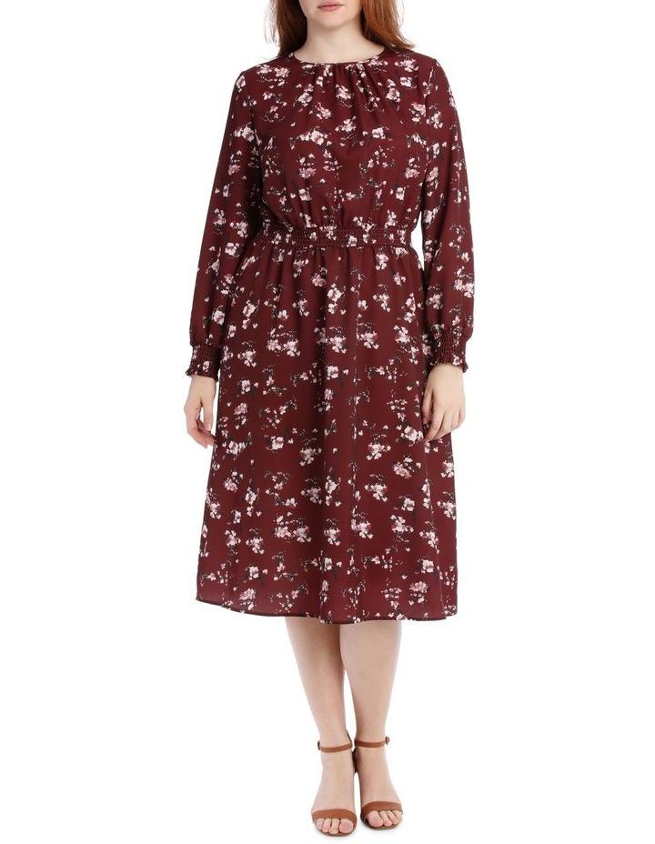 Dress With Shirred Waist image 1