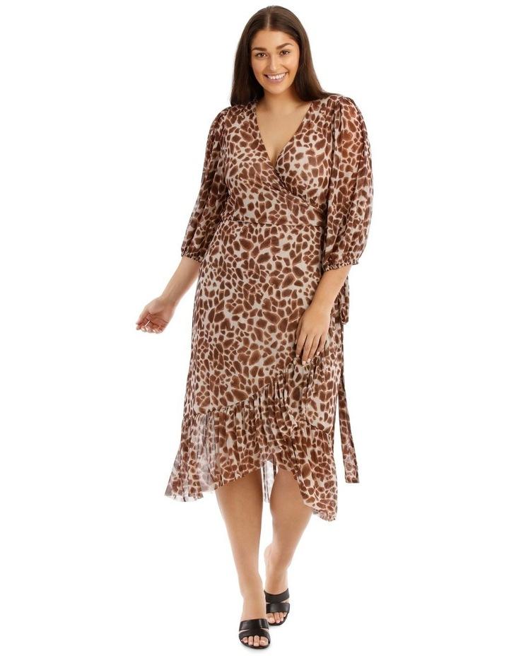 Mesh Wrap Dress image 1