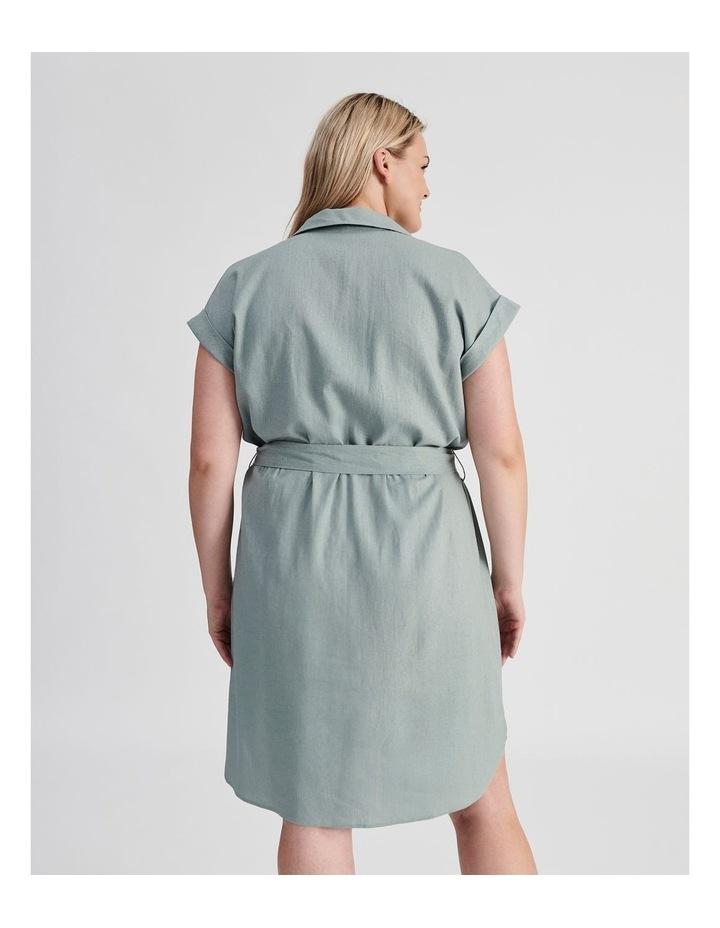 Belted Shirt Dress image 4