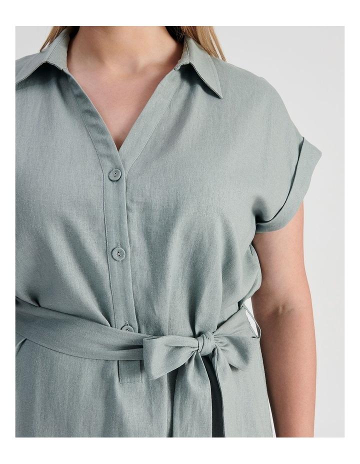 Belted Shirt Dress image 5