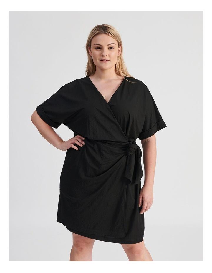 Wrap Mini Dress image 1
