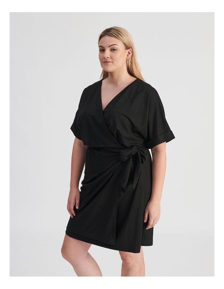 Wrap Mini Dress image 3