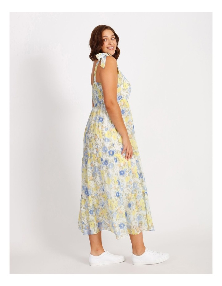 Tiered Floral Maxi Dress image 2