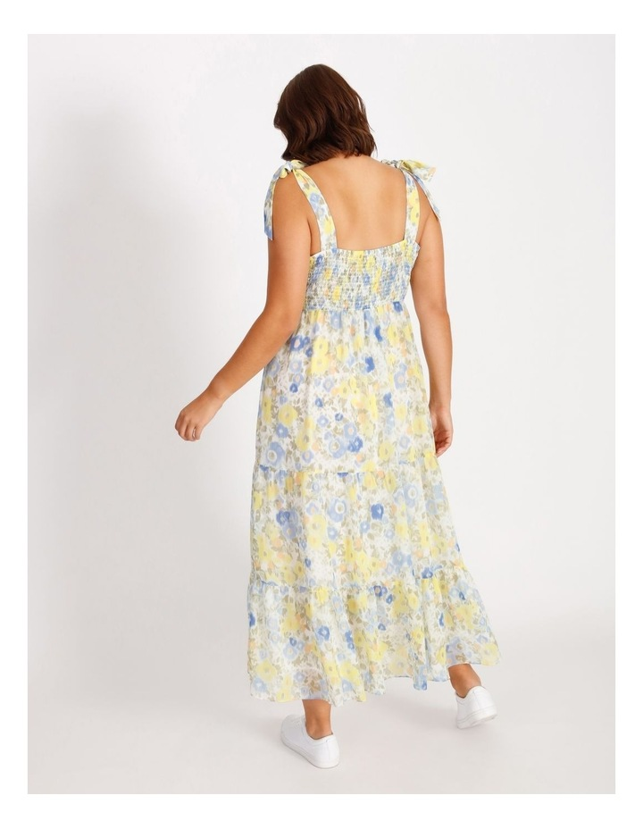 Tiered Floral Maxi Dress image 3
