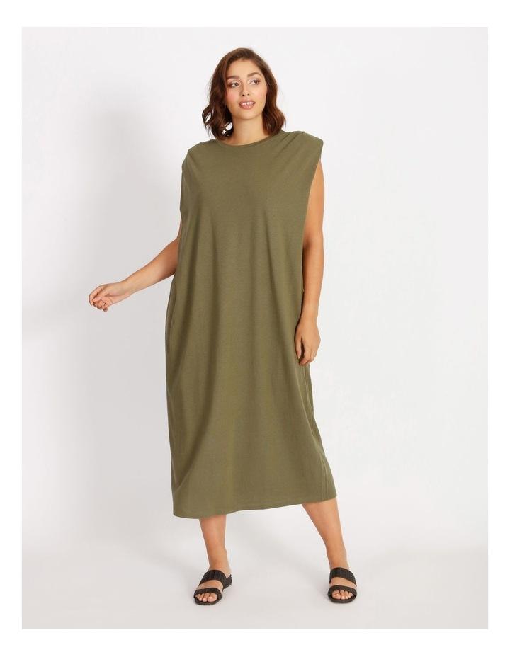 Muscle Tank Midi Dress image 1