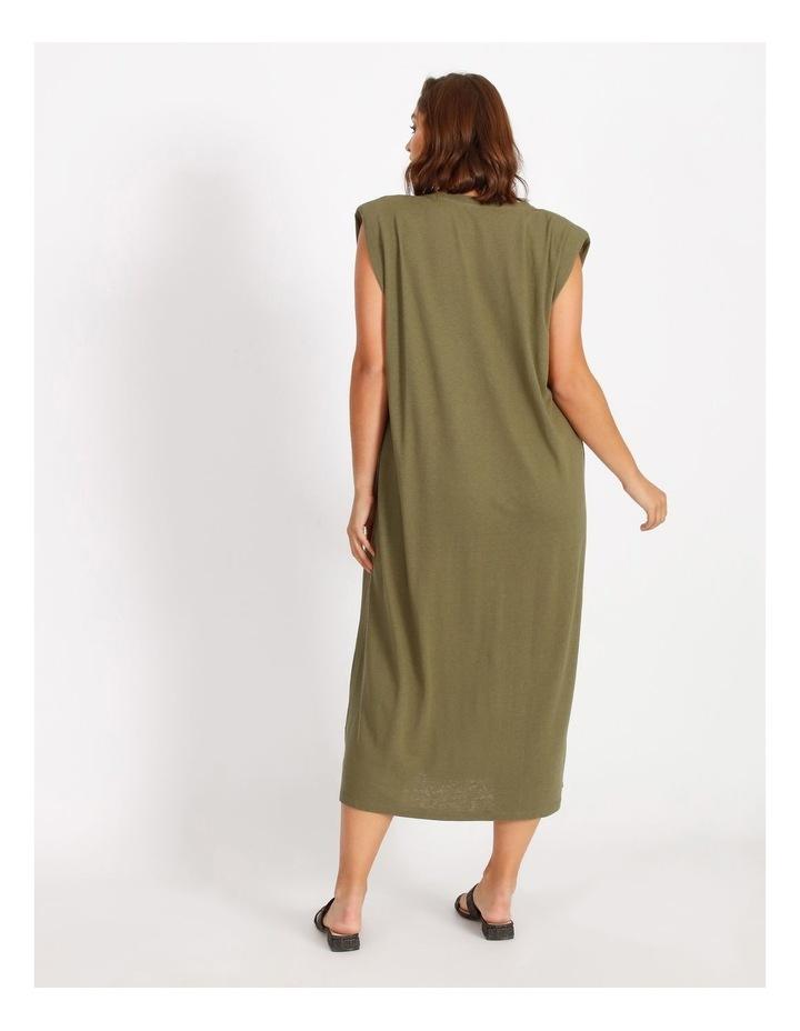 Muscle Tank Midi Dress image 3