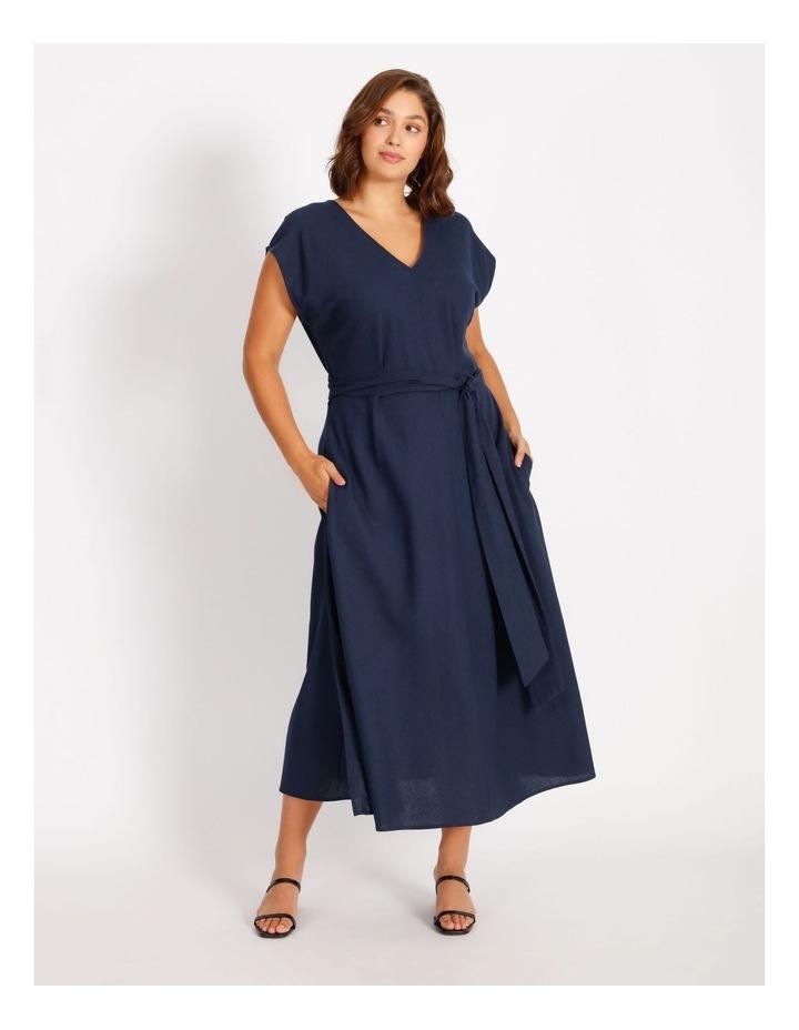 Sleeveless Linen Dress image 4