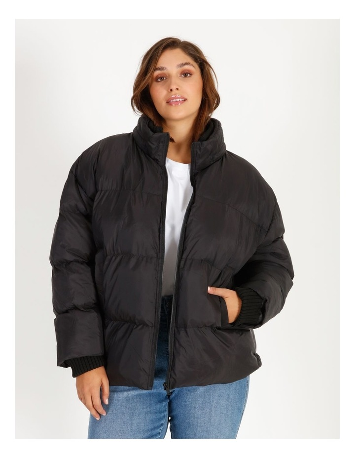 Recycled Short Puffer Jacket image 1