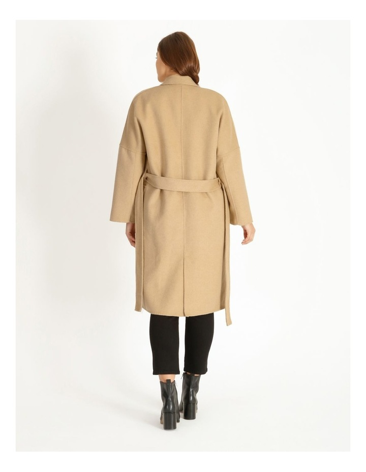 Unlined Wool Coat image 3