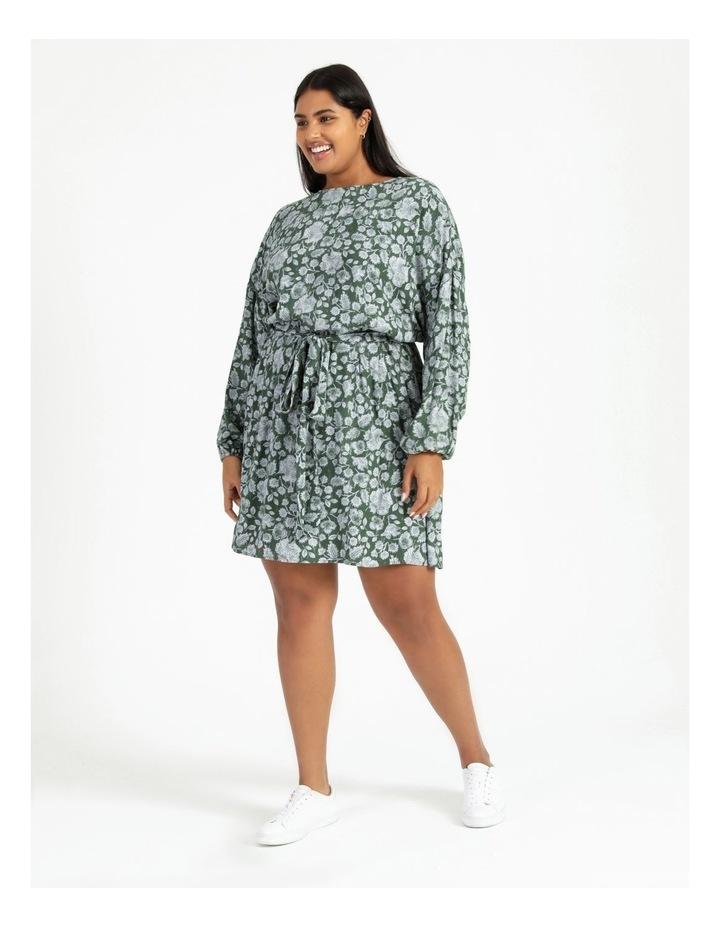 Crepe Mini Dress image 1
