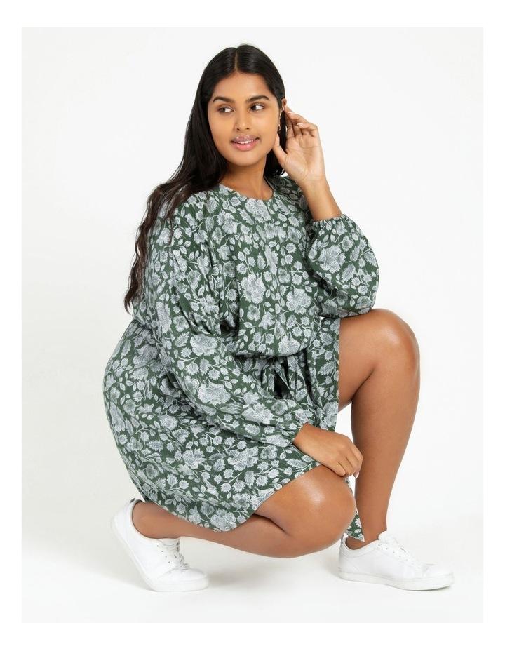 Crepe Mini Dress image 2