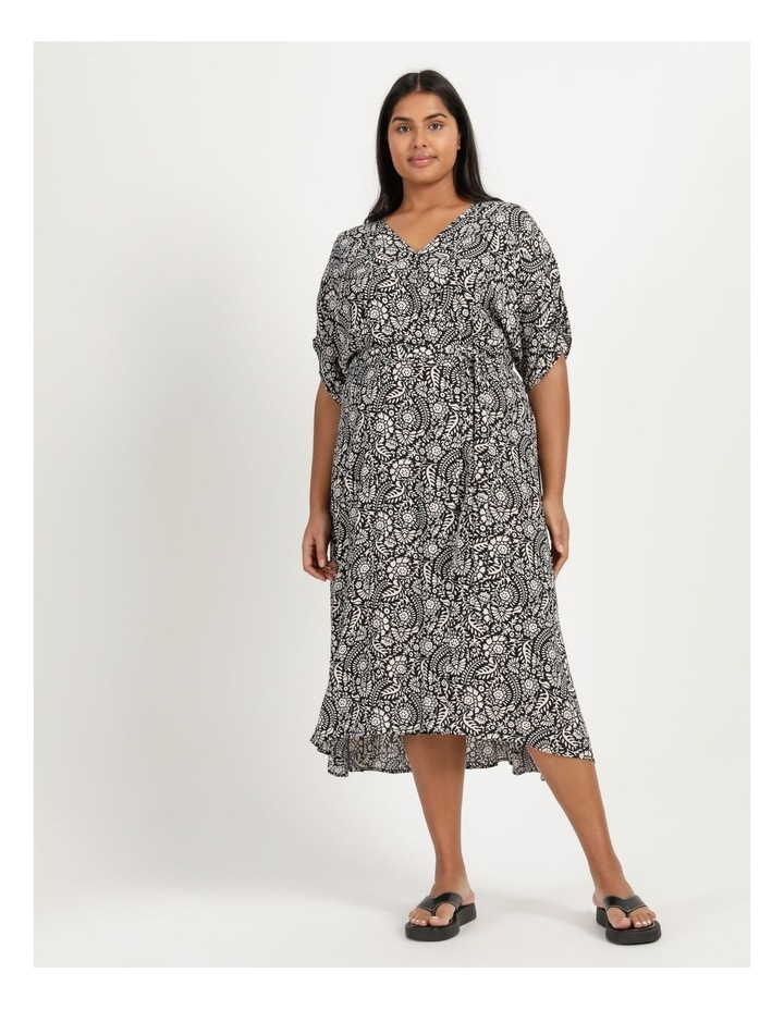 Ruched Sleeve Dress image 2