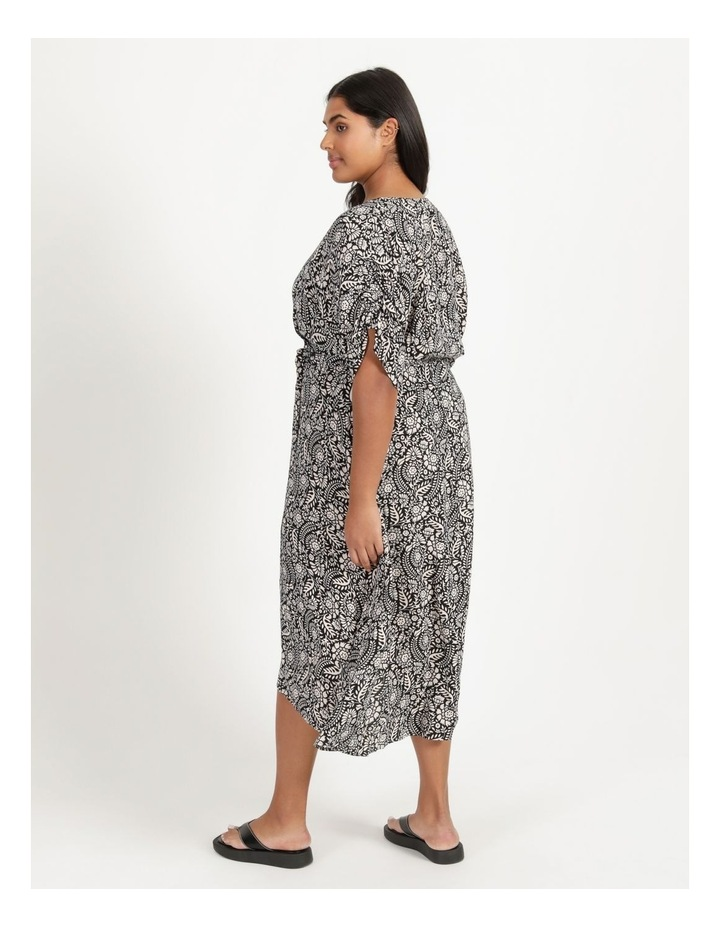 Ruched Sleeve Dress image 4