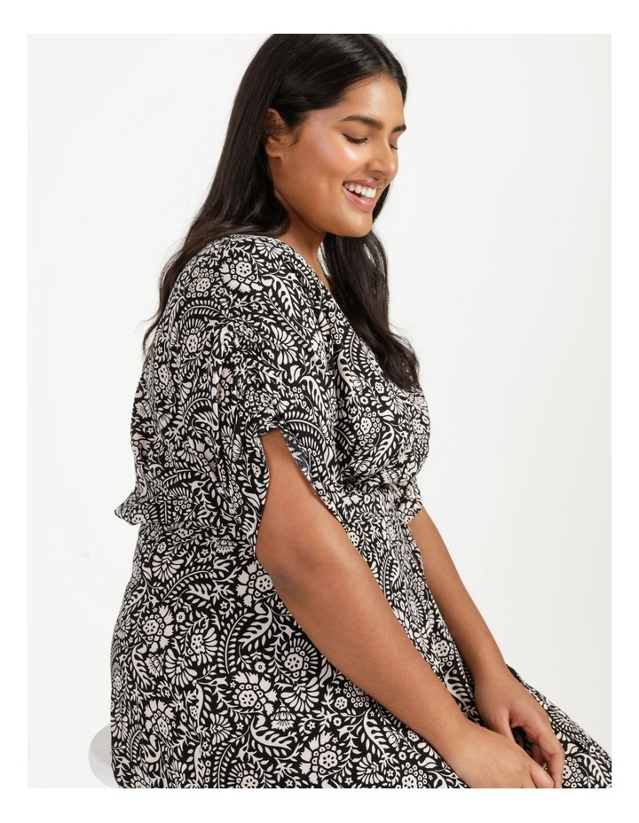 Ruched Sleeve Dress image 5