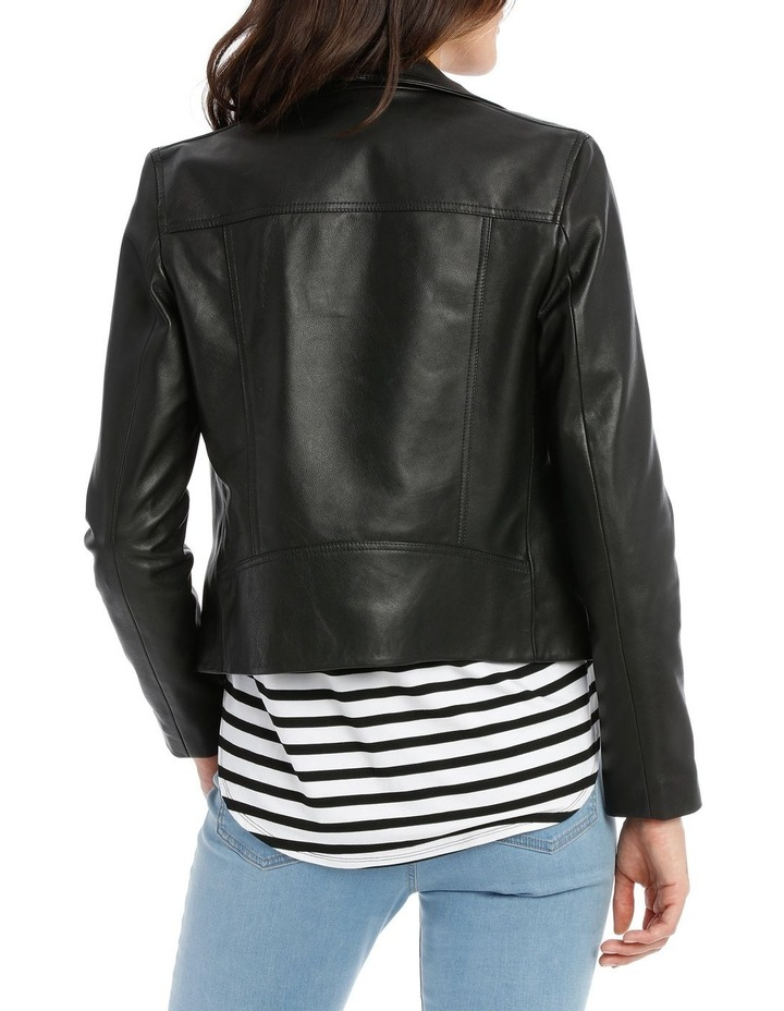 ce51514f1 Piper Petites Leather Jacket With Zip And Pockets