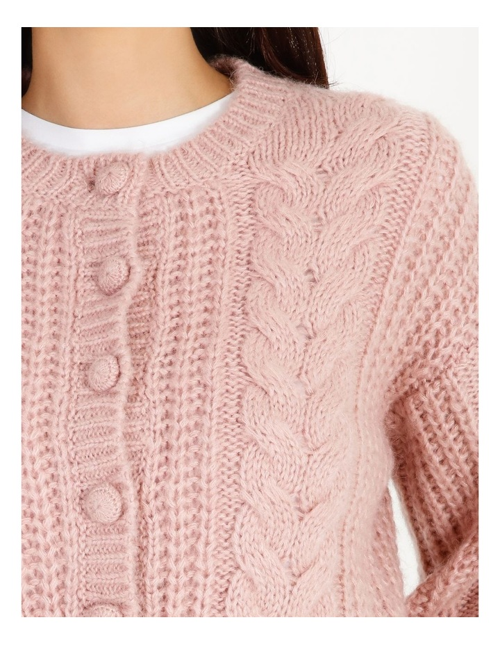 Cable Knit Cardigan image 4