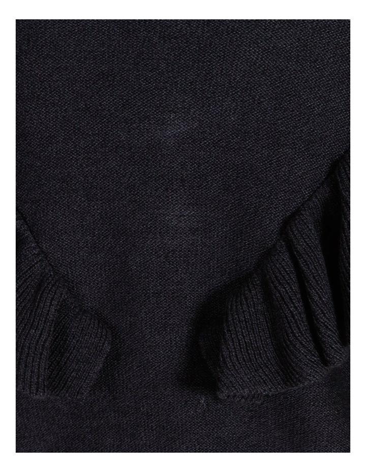 Oversized Ruffle Detail Jumper image 7